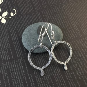 """O"" Earrings (Aluminum)"